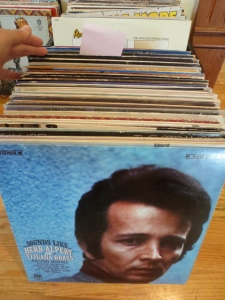 These are the 55 albums going to Doug (from the post-it on).