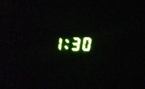 Actual time.