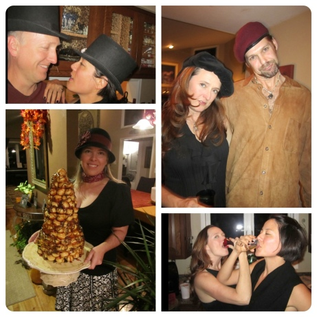 My fabulous 40th birthday party at Shawn and Rachel's. Alana made an extravagant dessert.