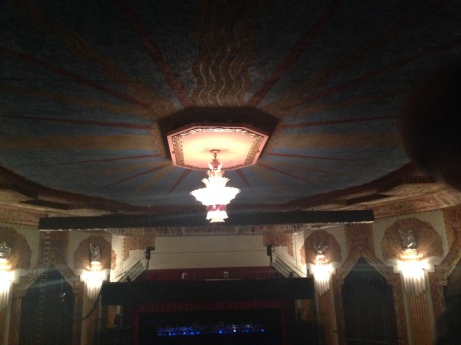 The lovely Paramount theater.