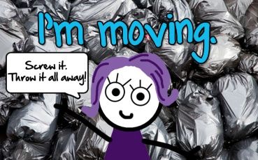 Moving trash