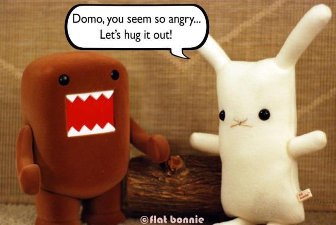 bonnie domo - hug it out