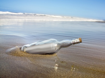 Blogs are modern messages in a bottle.
