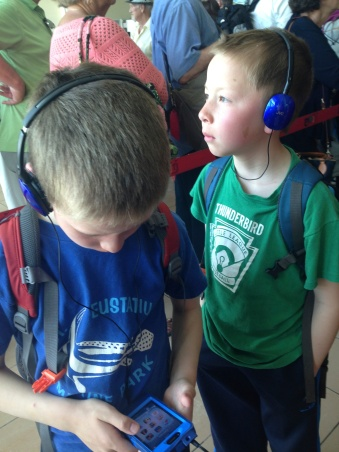 They love listening to audio books which helps tremendously with the lines.