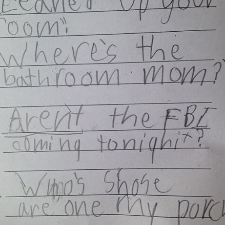 Shit my kid says.
