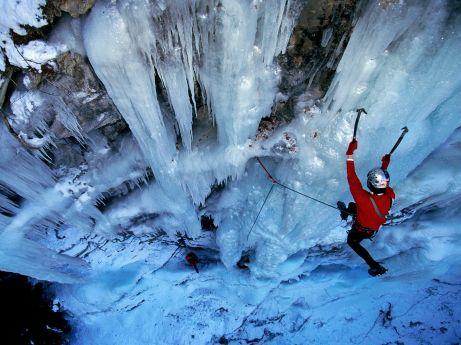 ice-climbing