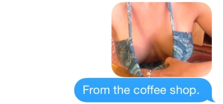 Now THIS is sexting.