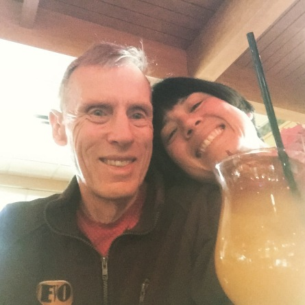 I am drinking Mai Tai's with my dad so it totally doesn't count.