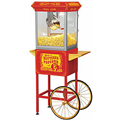 Full-Size-Red-Carnival-Style-8-oz-Hot-Oil-Popcorn-Machine-with-Cart-P12599442