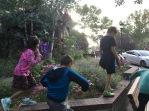 The kids loved running around Estes