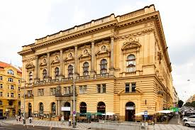 National house of Vinohrady, Náměstí Míru, Prague
